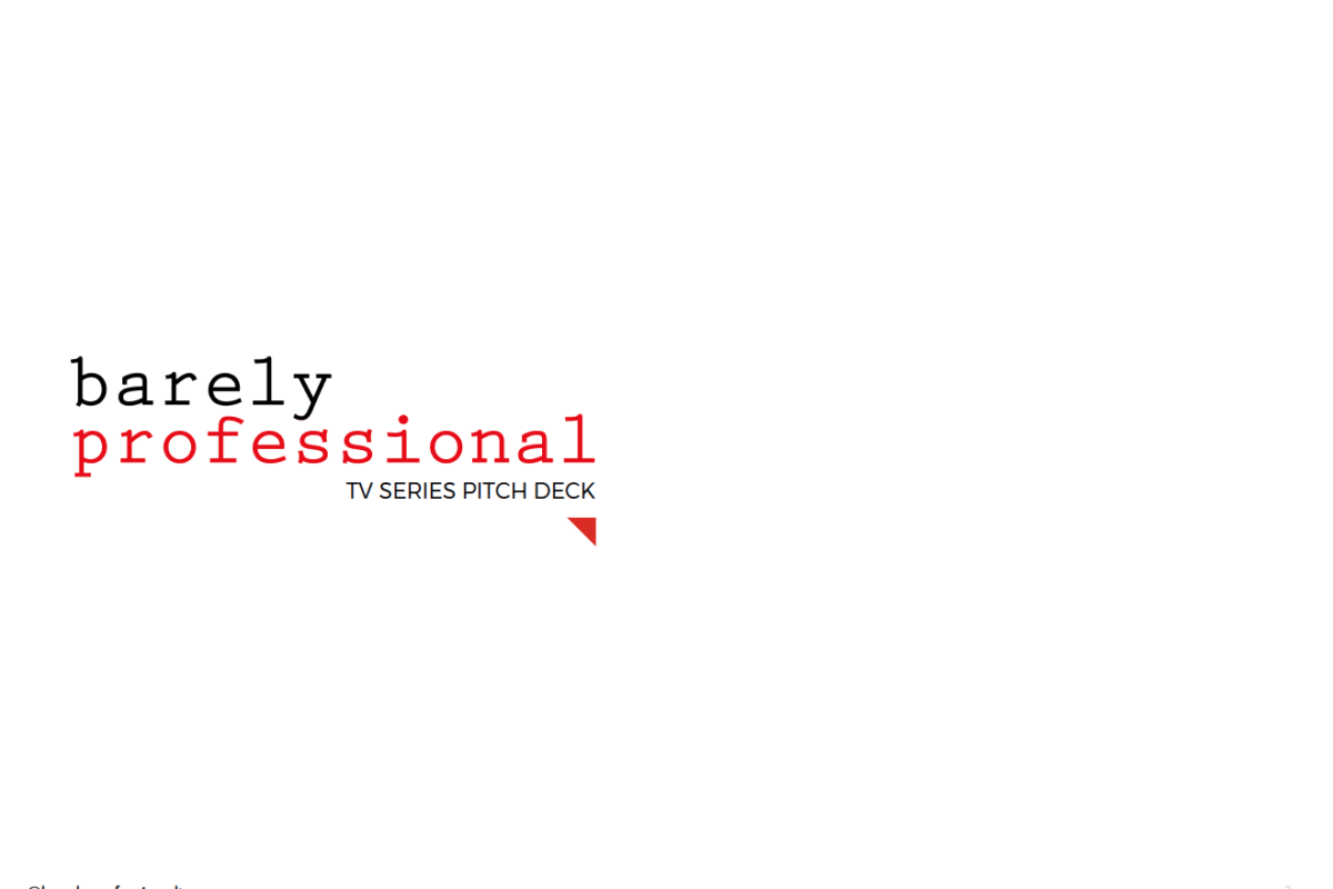 Barely Professional | Pitch Deck
