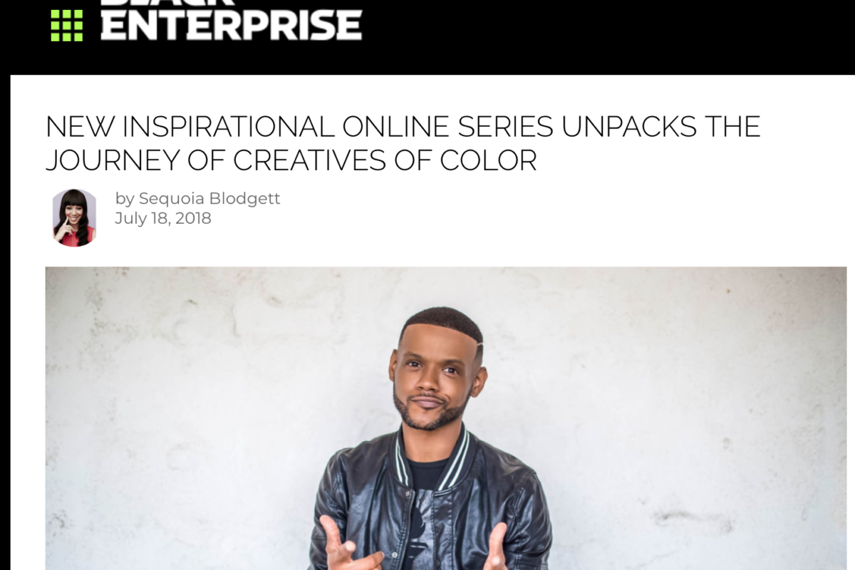 Corey is featured in Black Enterprise Magazine